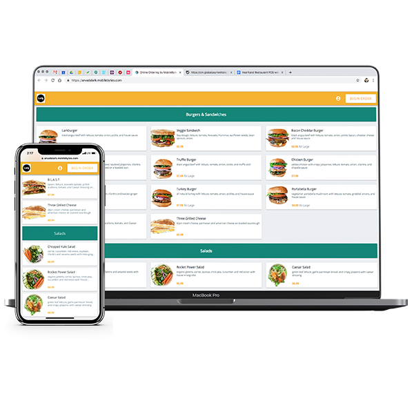 profits with online ordering for restaurants
